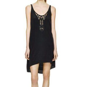 WILFRED   Lazare Silk Embroidered dress